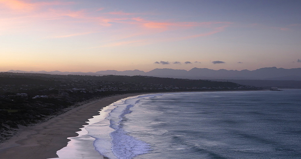 View of Plettenberg Bay at sunset, Western Cape, South Africa, Africa - 800-3335