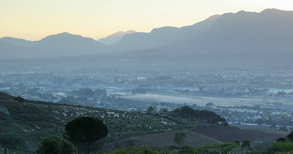 View of Paarl valley, Western Cape, South Africa - 800-3347