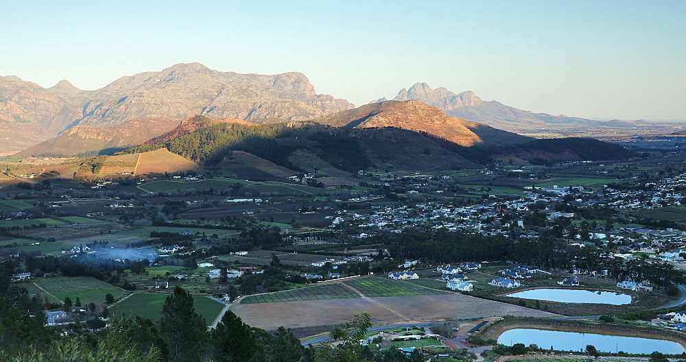 View of Franschhoek, Western Cape, South Africa - 800-3353