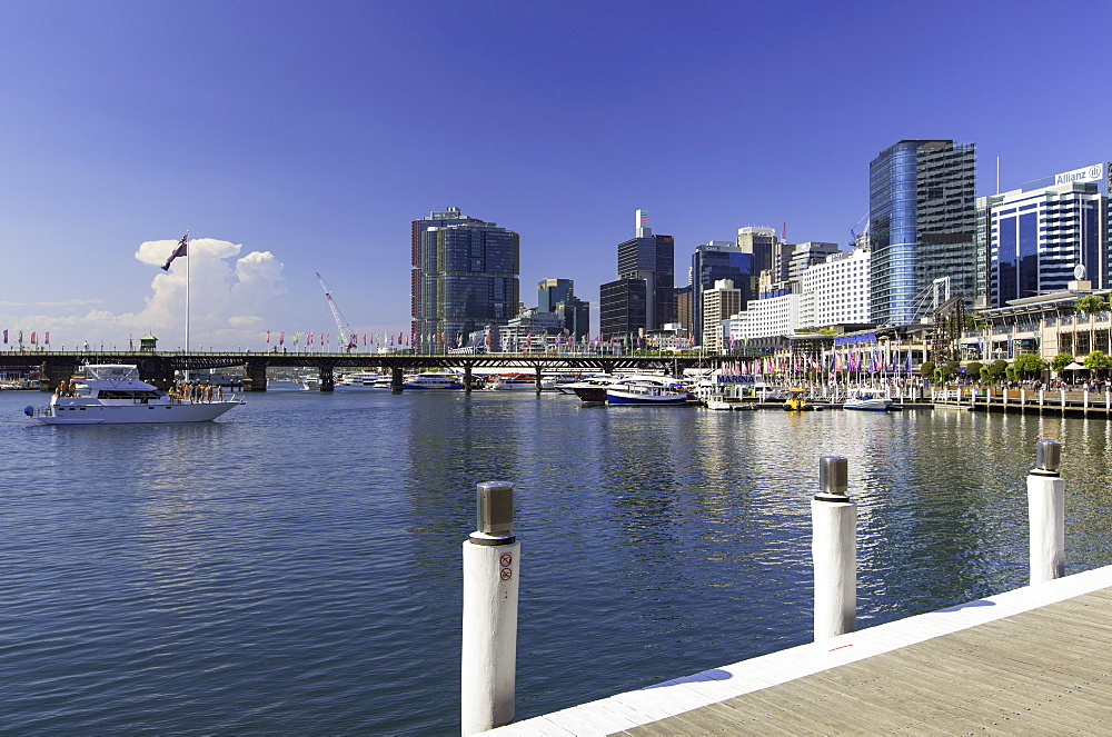 Barangaroo and Darling Harbour, Sydney, New South Wales, Australia