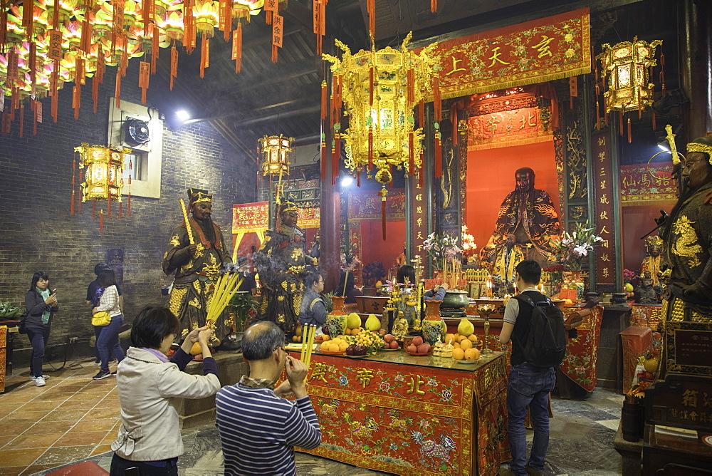 Pak Tai Temple, Wan Chai, Hong Kong Island, Hong Kong, China, Asia - 800-3442