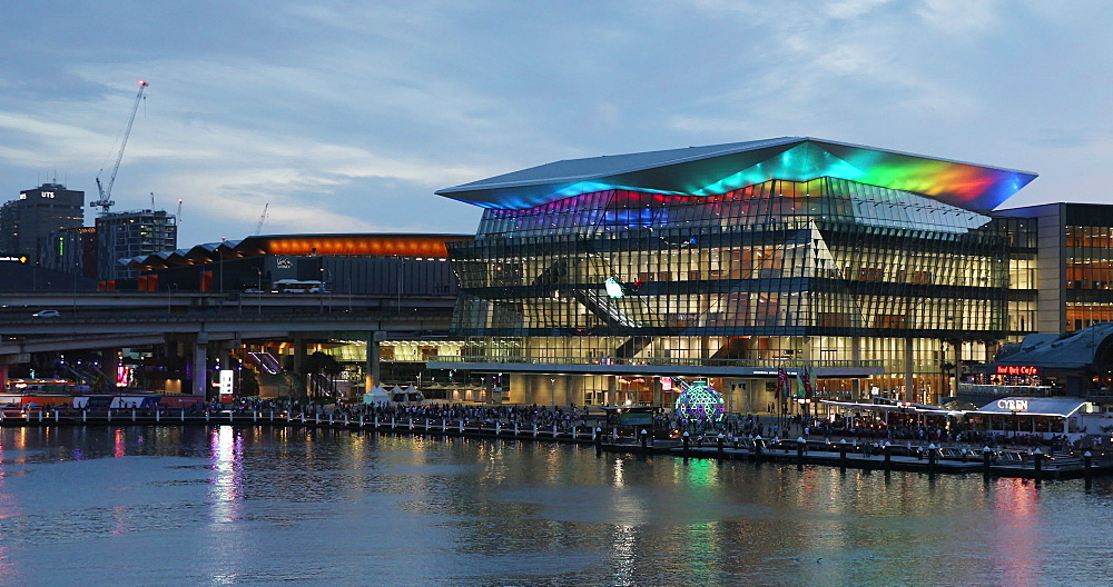 International Convention Centre, Darling Harbour, Sydney, New South Wales, Australia, Pacific - 800-3468