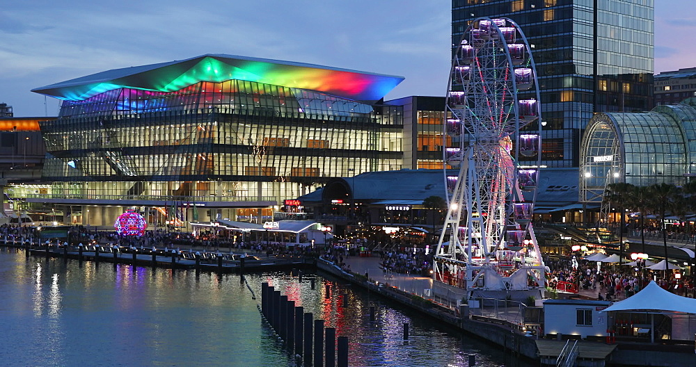 International Convention Centre, Darling Harbour, Sydney, New South Wales, Australia, Pacific - 800-3470
