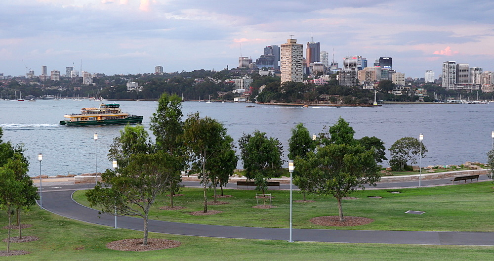 View of North Sydney from Barangaroo Reserve, Sydney, New South Wales, Australia, Pacific - 800-3471