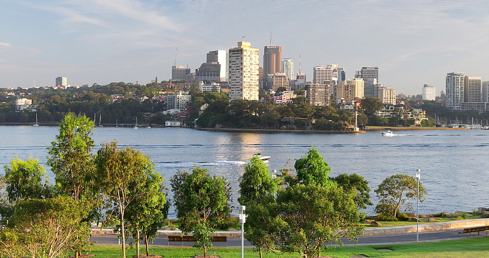 View of North Sydney from Barangaroo Reserve, Sydney, New South Wales, Australia, Pacific - 800-3474
