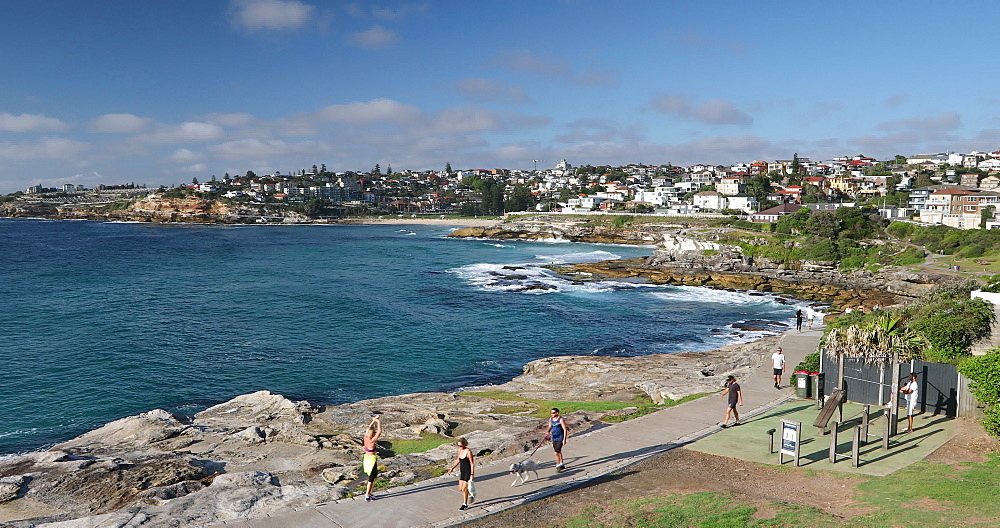 Coastline of Bondi to Bronte coastal walk, Sydney, New South Wales, Australia, Pacific - 800-3496