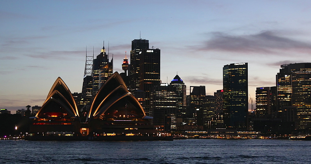 View of Sydney skyline, Sydney, New South Wales, Australia, Pacific - 800-3507