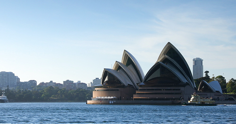 Sydney Opera House, UNESCO World Heritage Site, and Sydney Harbour, Sydney, New South Wales, Australia, Pacific - 800-3514