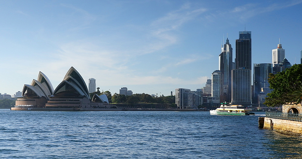 Sydney Opera House, UNESCO World Heritage Site, and Sydney Harbour, Sydney, New South Wales, Australia, Pacific - 800-3515