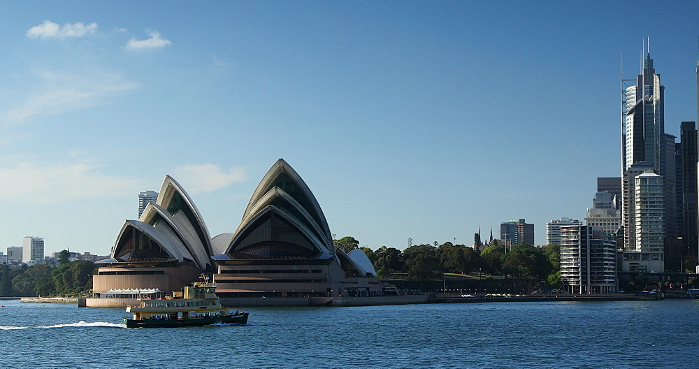 Sydney Opera House, UNESCO World Heritage Site, and Sydney Harbour, Sydney, New South Wales, Australia, Pacific - 800-3517