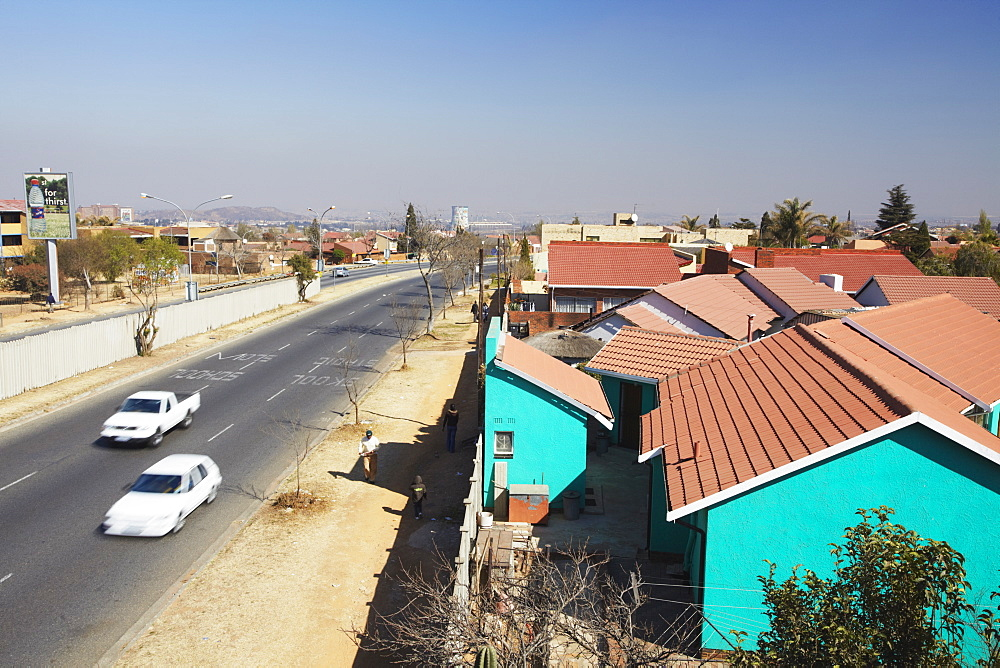 Middle class area of Soweto, Johannesburg, Gauteng, South Africa, Africa