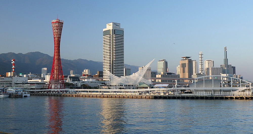 Port Tower and Maritime Museum, Kobe, Kansai, Japan, Asia - 800-3531