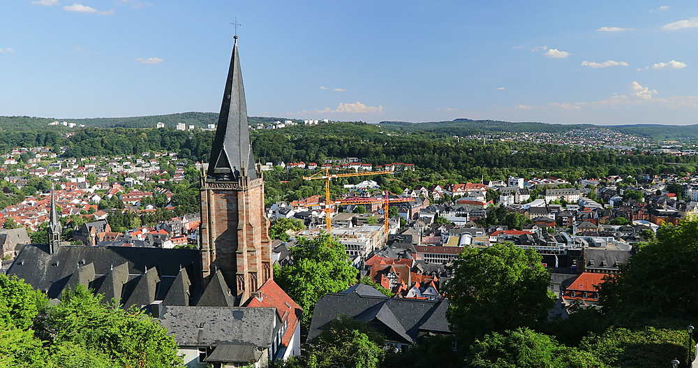 View of Marburg, Hesse, Germany - 800-3628