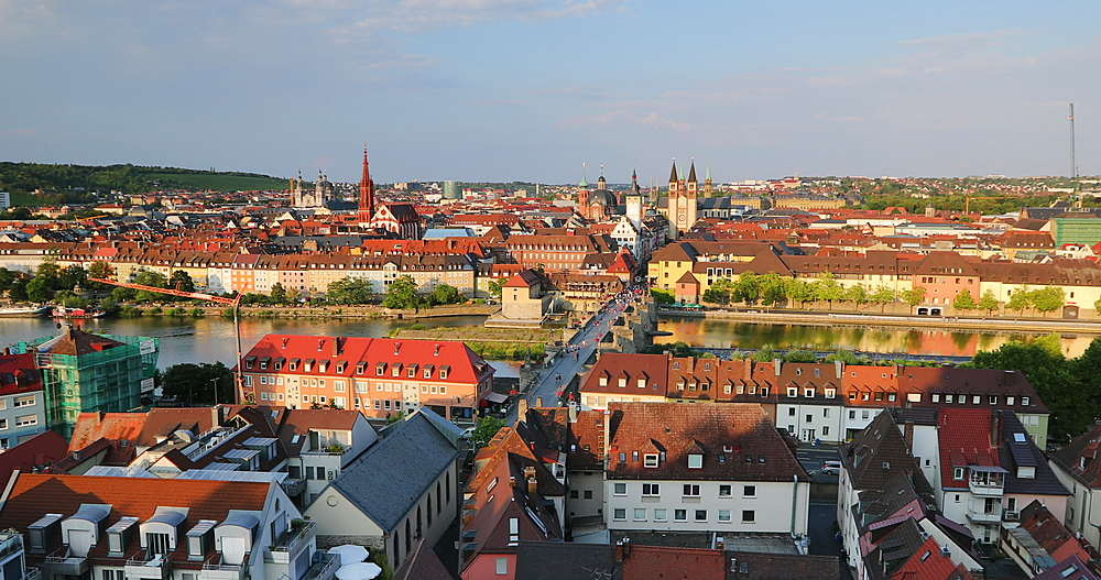 View of Wurzburg, Bavaria, Germany - 800-3636