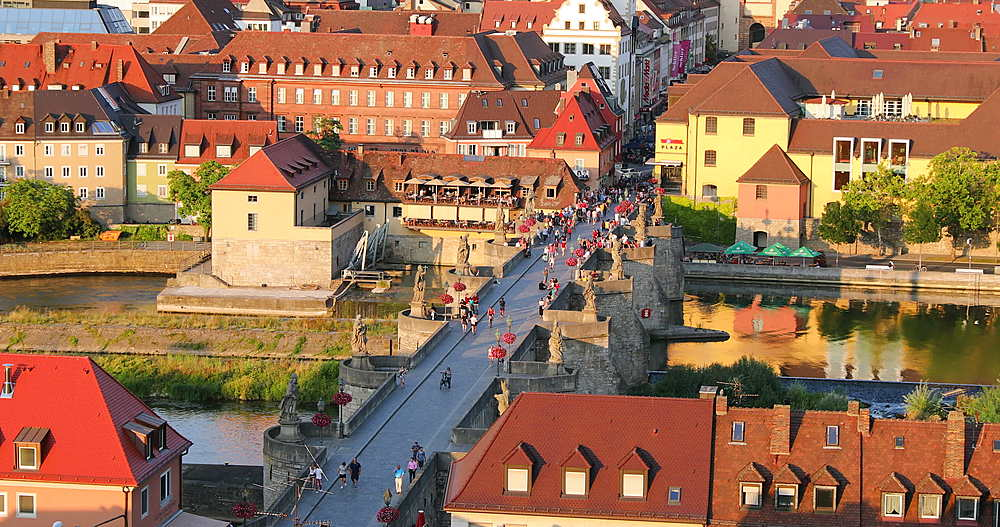 View of Wurzburg, Bavaria, Germany - 800-3638