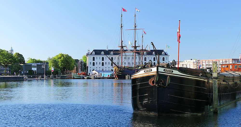 Maritime Museum in Oosterdok, Amsterdam, Netherlands - 800-3647