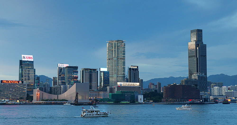 International Commerce Centre (ICC) and Victoria Harbour, Hong Kong - 800-3670