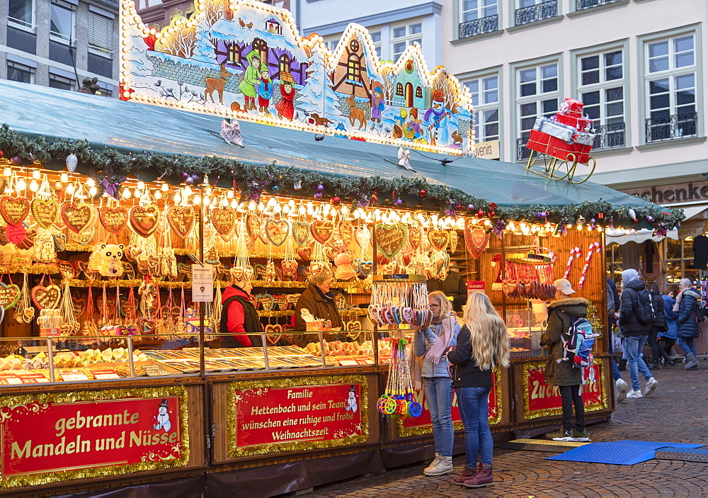 Frankfurt Christmas Market, Frankfurt am Main, Hesse, Germany