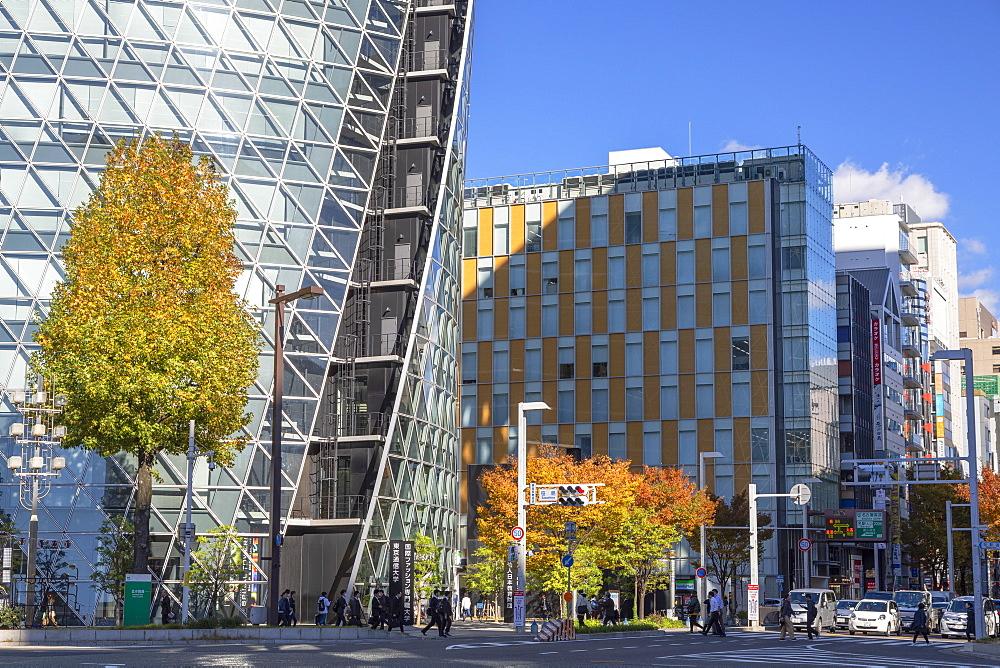 Mode Gakuen Spiral Towers, Nagoya, Honshu, Japan, Asia