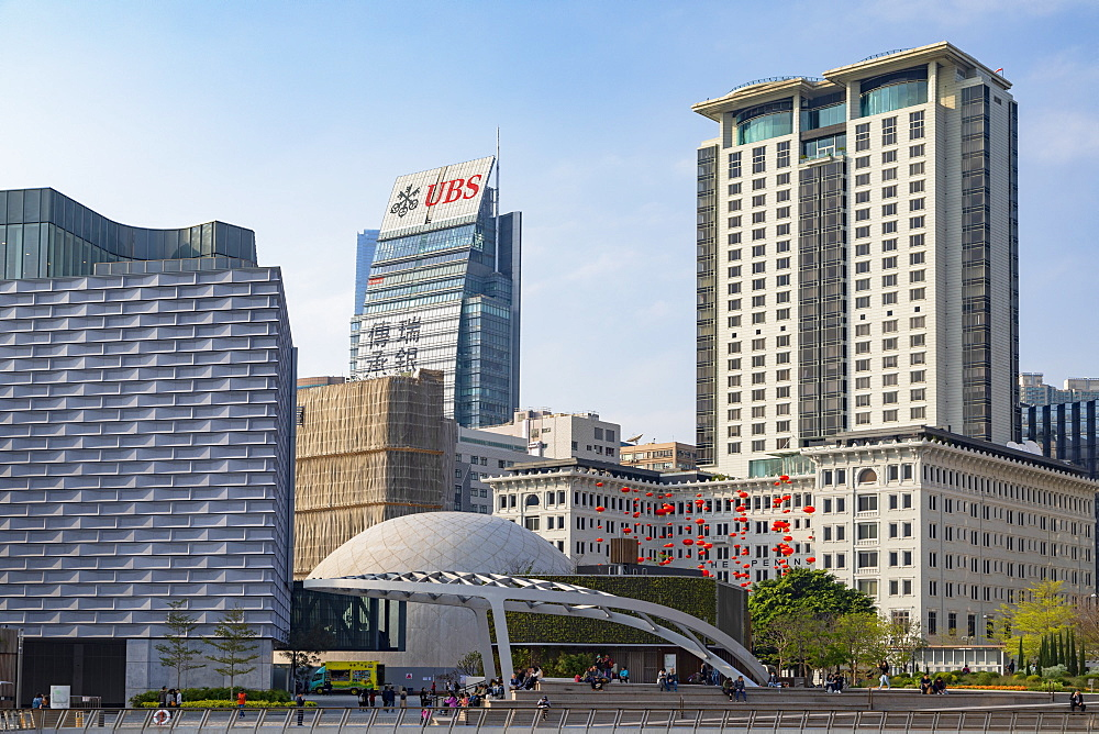 Peninsula Hotel, Museum of Art and Space Museum, Tsim Sha Tsui, Kowloon, Hong Kong, China, Asia