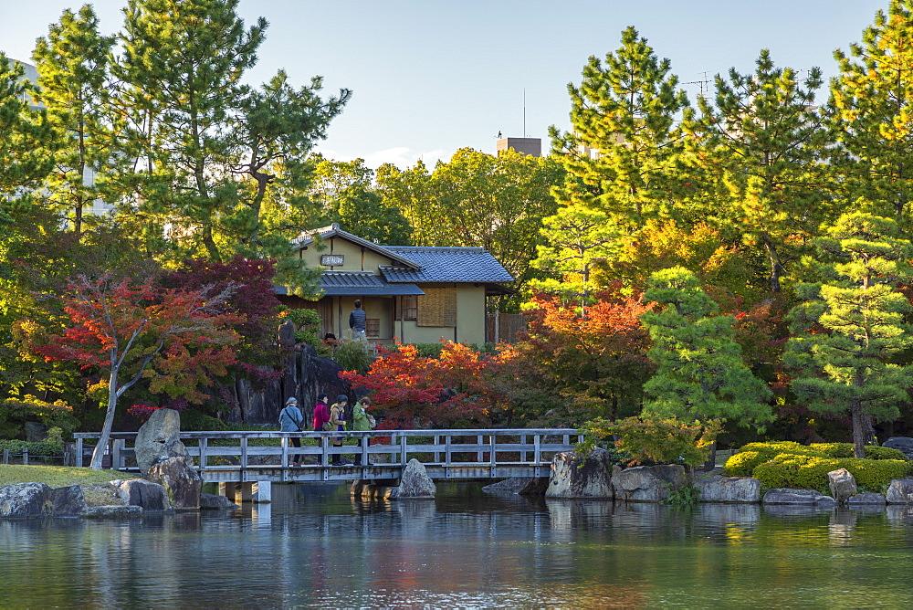 Tokugawa Garden, Nagoya, Honshu, Japan, Asia