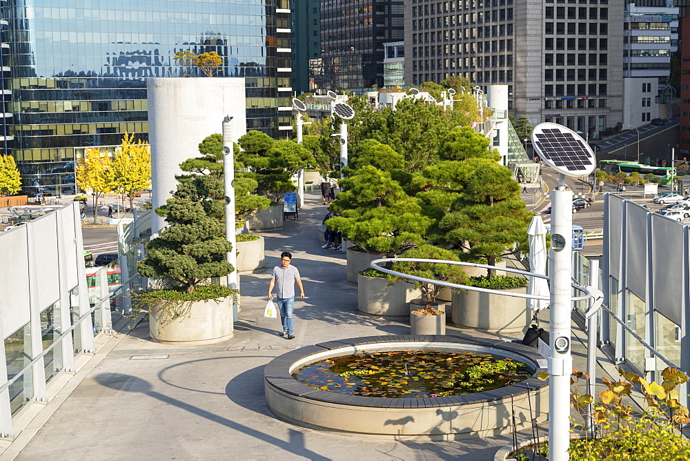 Seoullo 7017 Skygarden, Seoul, South Korea, Asia