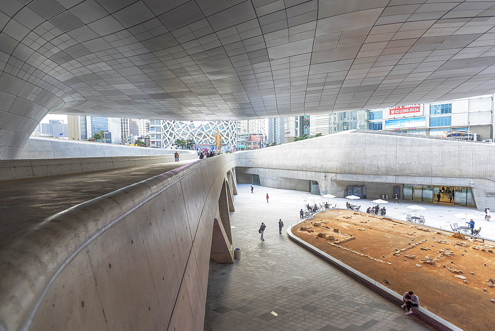 Dongdaemun Design Plaza, Seoul, South Korea, Asia - 800-3841