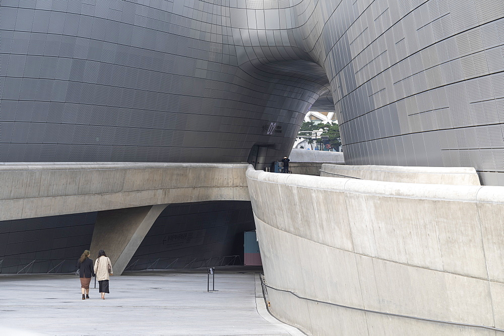 Dongdaemun Design Plaza, Seoul, South Korea, Asia - 800-3843
