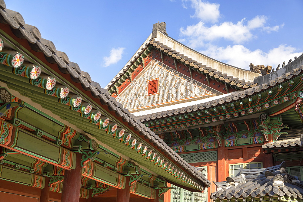 Changdeokgung Palace, UNESCO World Heritage Site, Seoul, South Korea, Asia - 800-3870