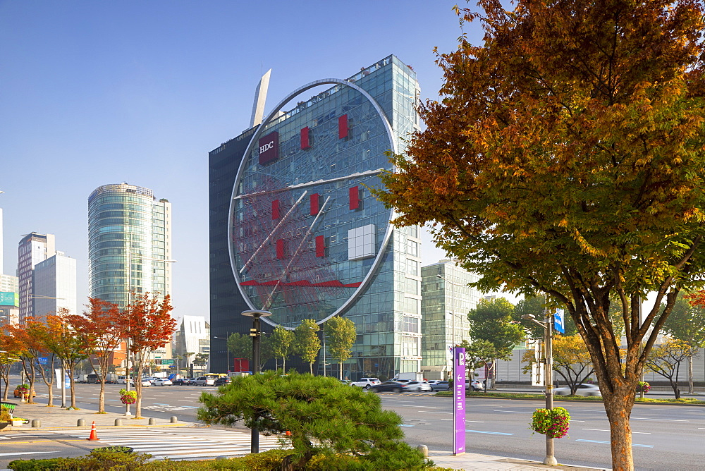 The Tangent (Hyundai Development Corporation HQ), Gangnam-gu, Seoul, South Korea, Asia - 800-3892