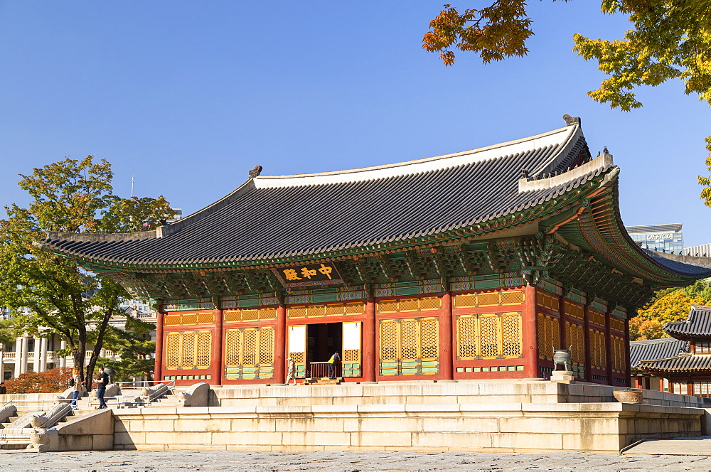 Deoksugung Palace, Seoul, South Korea, Asia