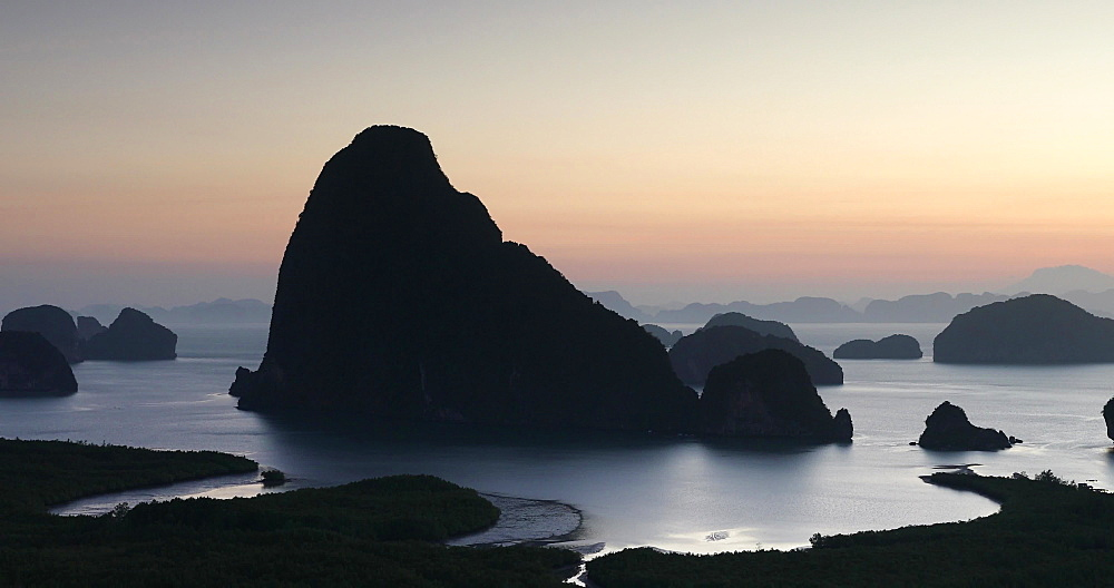 Ao Phang Nga National Park, Thailand, Southeast Asia, Asia