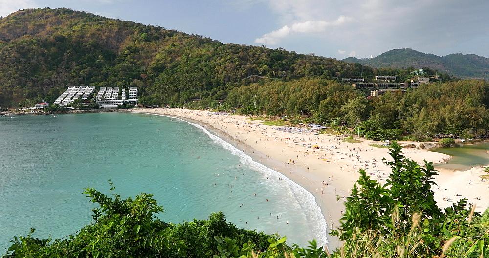 Nai Han Beach, Phuket, Thailand, Southeast Asia, Asia