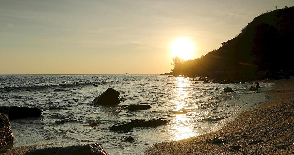 Ao Sane Beach, Phuket, Thailand, Southeast Asia, Asia
