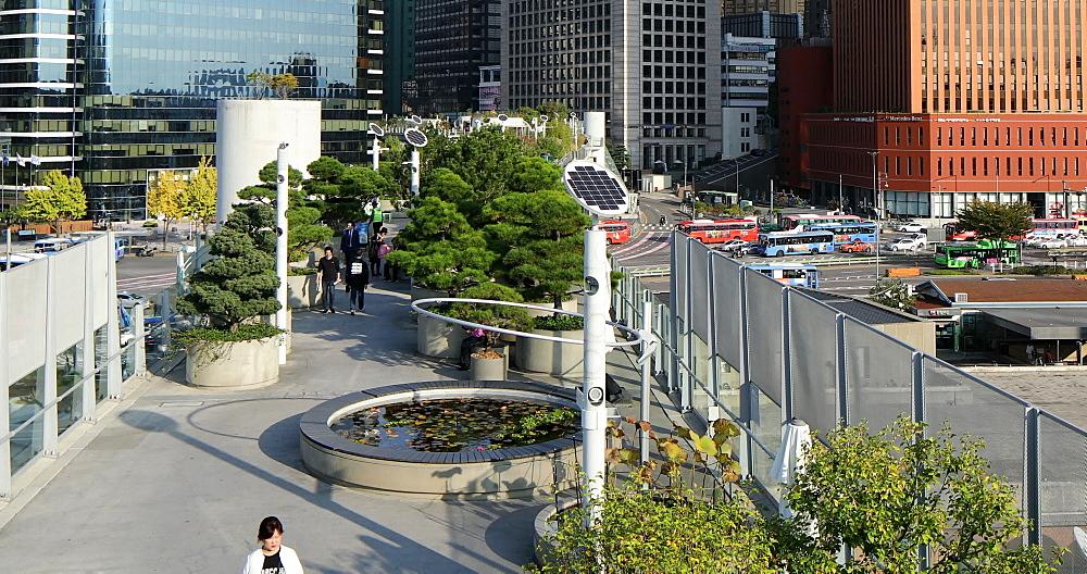Seoullo Skygarden, Seoul, South Korea, Asia