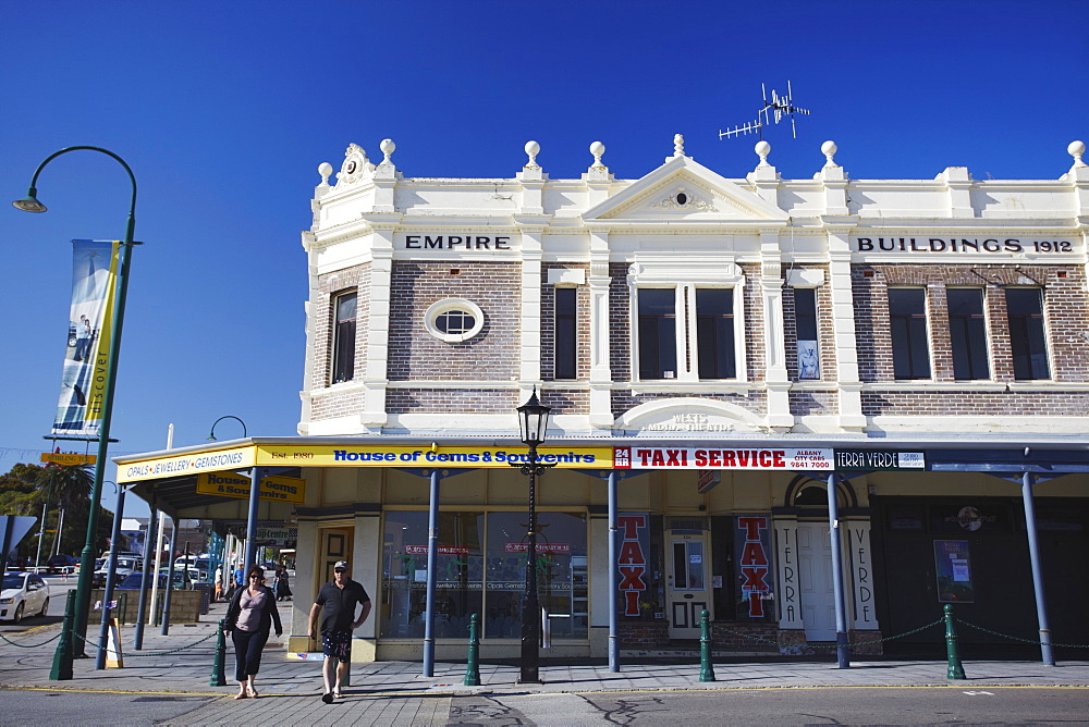 Shops along Stirling Terrace, Albany, Western Australia, Australia, Pacific