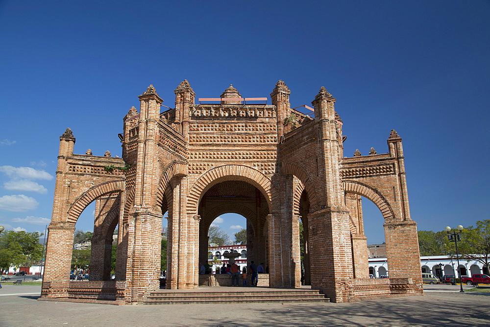 La Pila (the fountain), built in 1562, Chiapa de Corzo, Chiapas, Mexico, North America