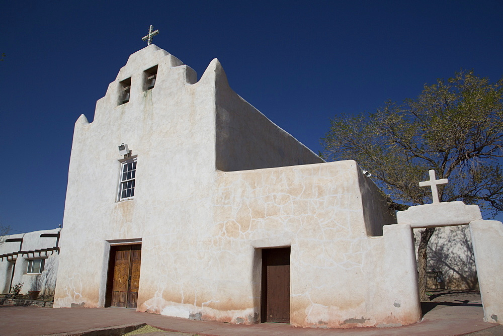 San Jose de la Laguna Mission and Convento, constructed between 1699 and 1701, Laguna Pueblo, New Mexico, United States of America, North America