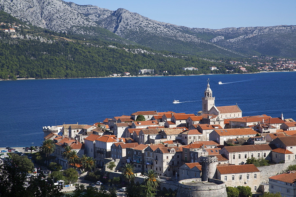 Korcula Town, Korcula Island, Croatia, Europe