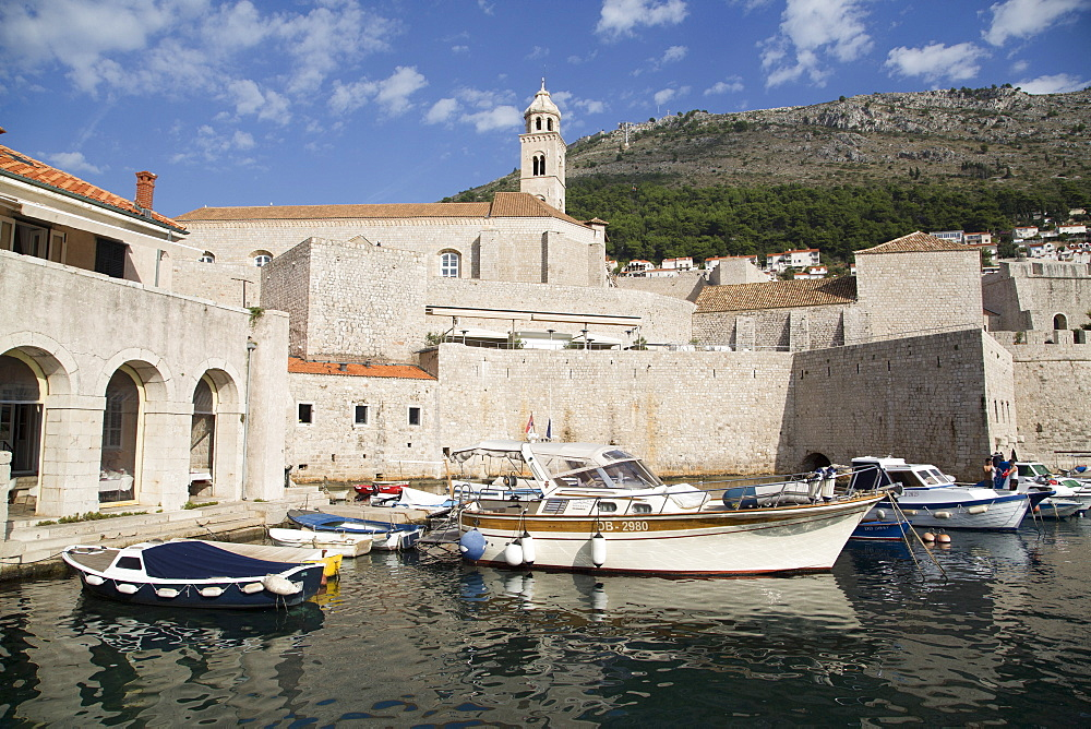 Old Harbor, UNESCO World Heritage Site, Dubrovnik, Croatia, Europe