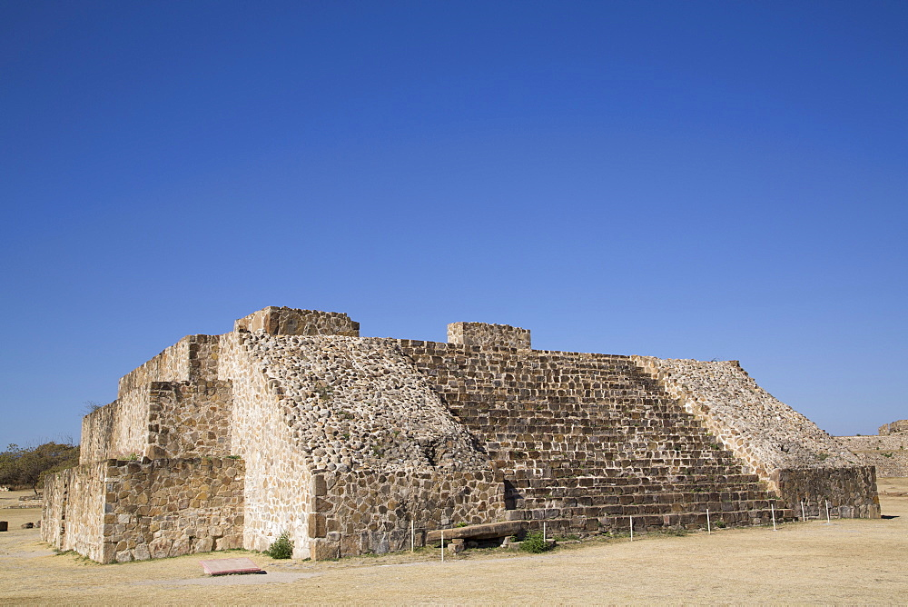 Building J, Observatory, Monte Alban, UNESCO World Heritage Site, Oaxaca, Mexico, North America