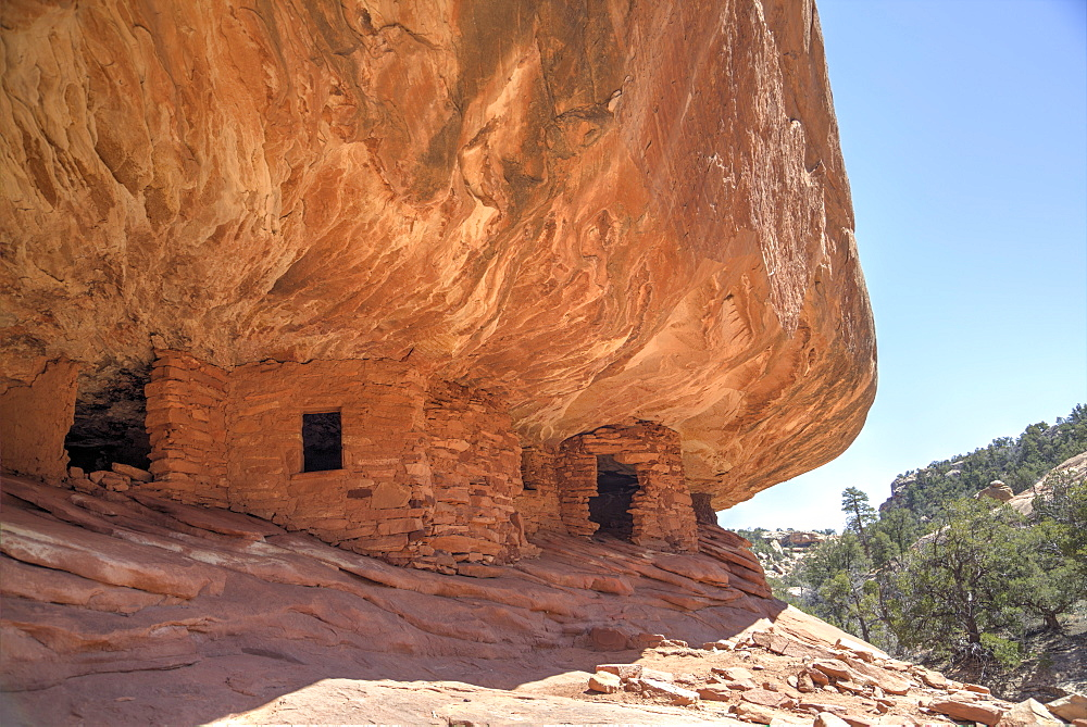 House on Fire Ruins, Anasazi Culture, over 800 years old, Mule Canyon, Cedar Mesa, Utah, United States of America, North America