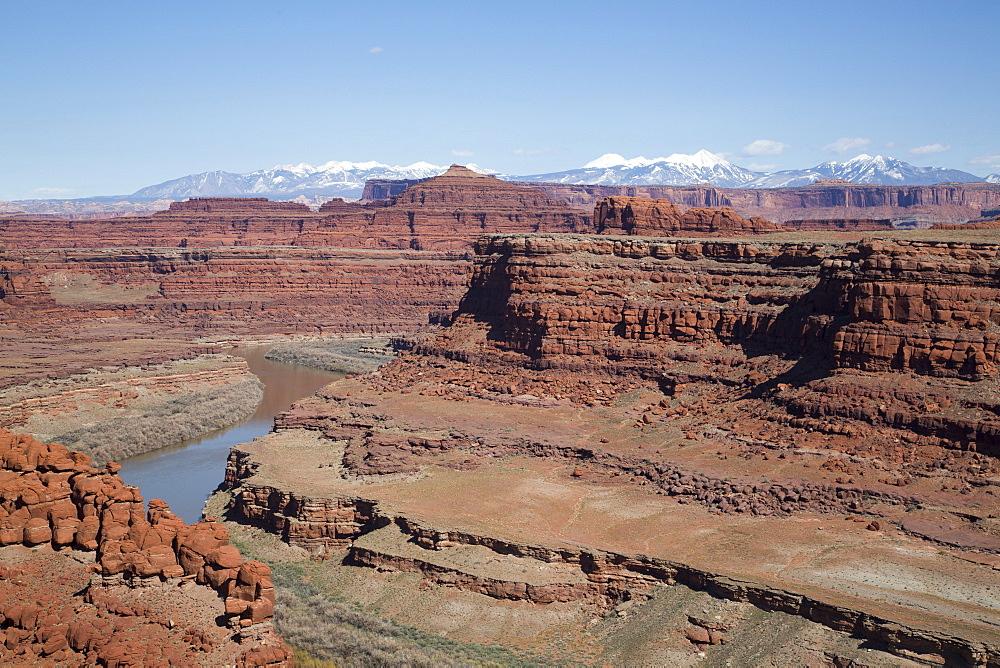Colorado River, Canyonlands National Park, Utah, United States of America, North America