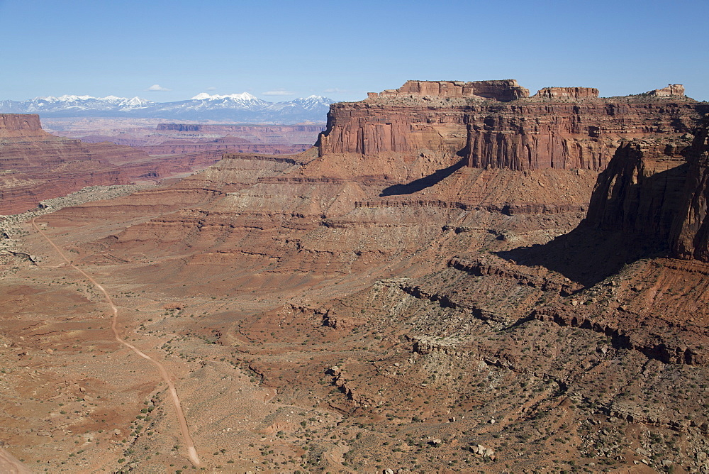 Shafer Trail Road, Canyonlands National Park, Utah, United States of America, North America