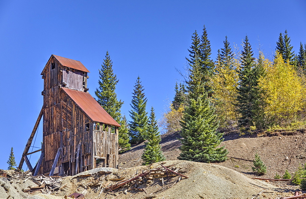 Yankee Girl Silver and Gold Mine, Ouray, Colorado, United States of America, North America
