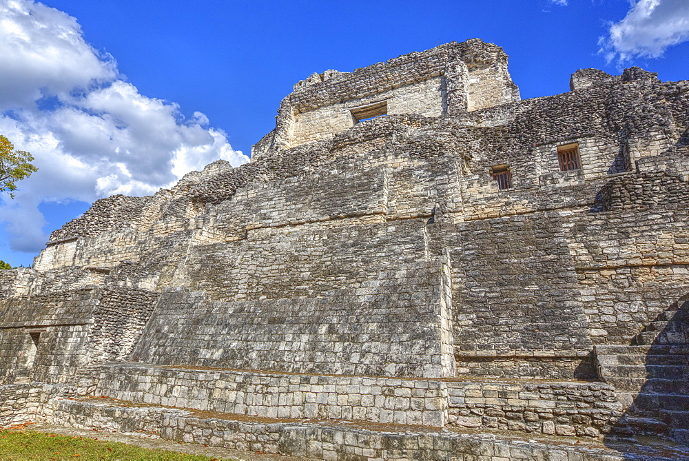 Structure X, Becan, Mayan Ruins, Campeche, Mexico, North America