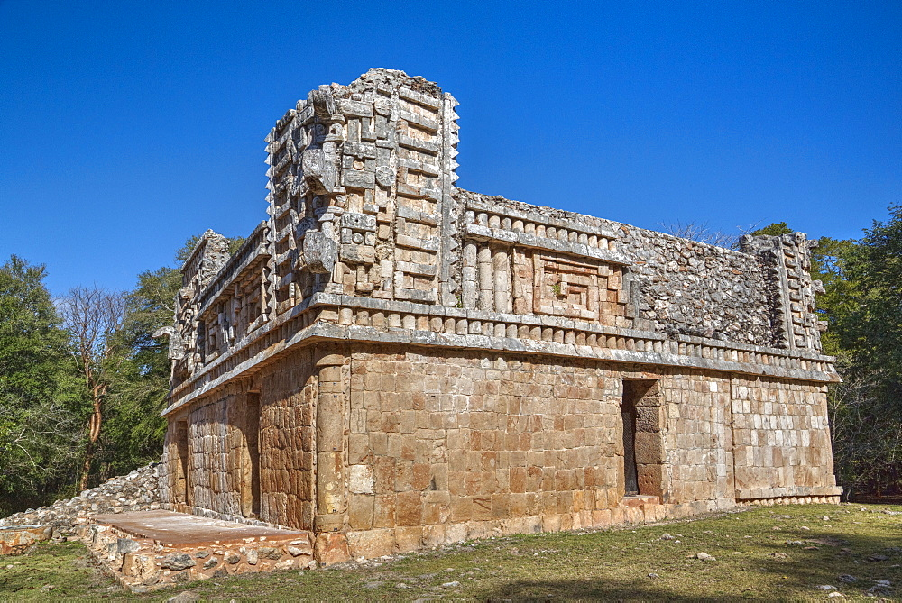 The Palace, Xlapak, Mayan archaeological site, Yucatan, Mexico, North America