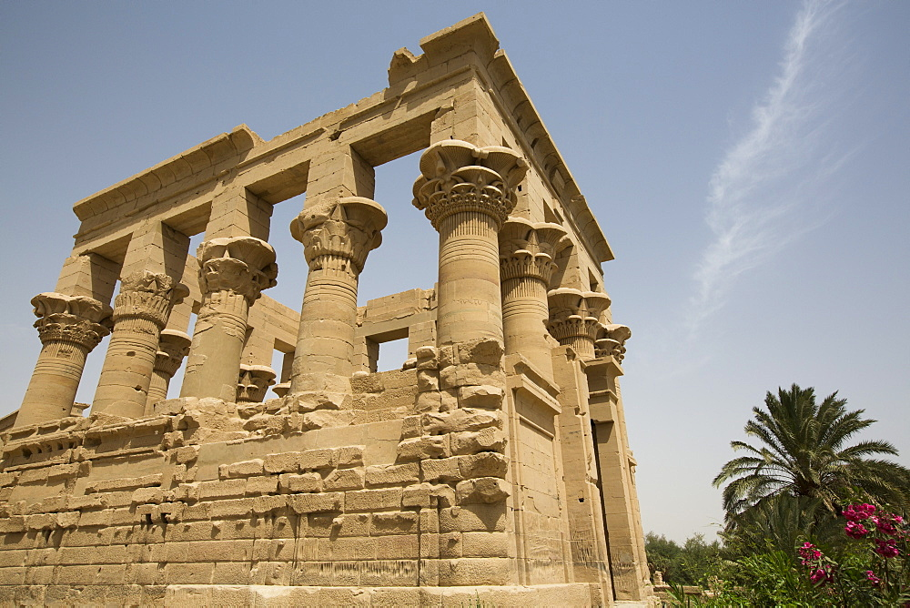 Kiosk of Trajan, Temple of Isis, Island of Philae, UNESCO World Heritage Site, Aswan, Egypt, North Africa, Africa