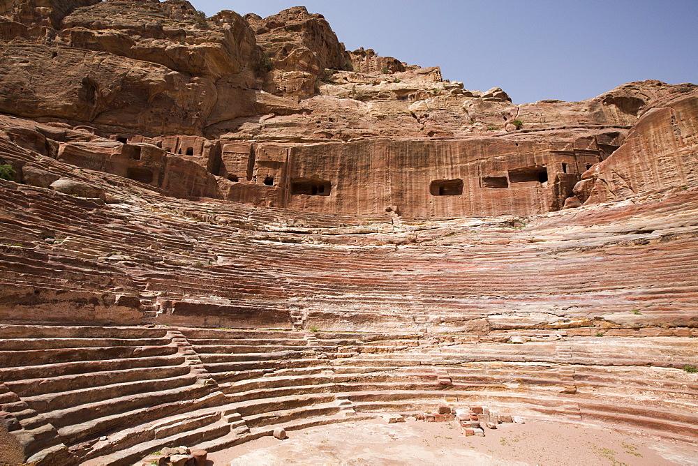 Petra, UNESCO World Heritage Site, Jordan, Middle East