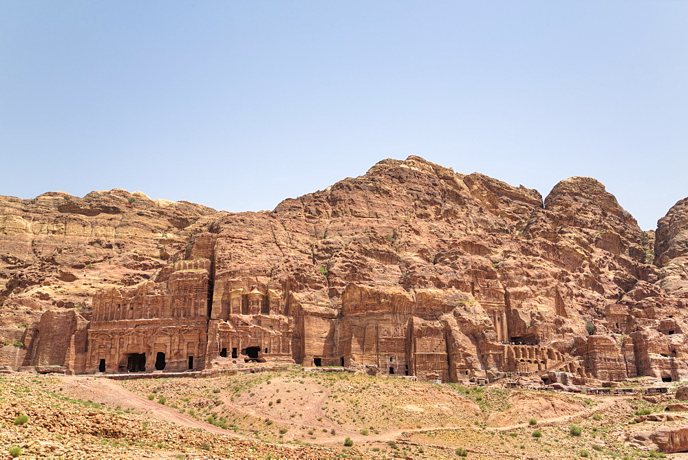 Royal Tombs, Petra, UNESCO World Heritage Site, Jordan, Middle East